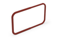 Gate arc universal 600-900mm (Lacquered in red (RAL 3009)) - RUG6090