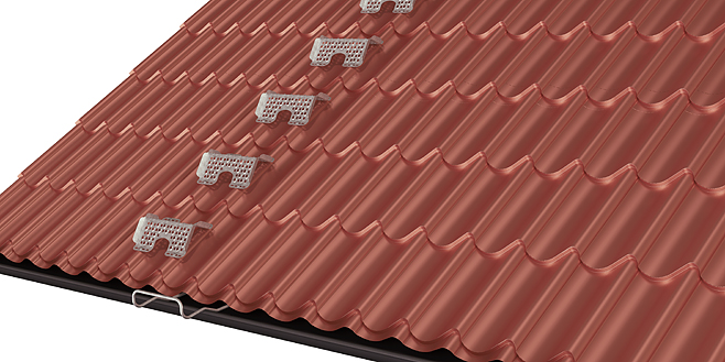 Roof treads for metal roofs